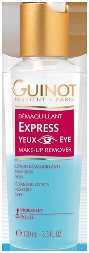 Démaquillant Express Yeux - Démaquillant biphasé – Tous maquillages