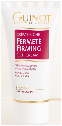 Crème Riche Fermeté - Soin raffermissant – Peaux Déshydratées ou sèches