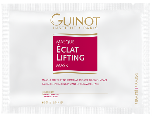 Masque Eclat Lifting - Soin effet lifting immédiat (4 unités)