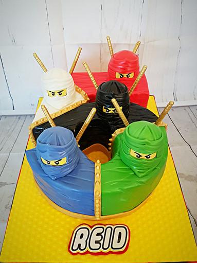 Number 5 Ninjago Cake