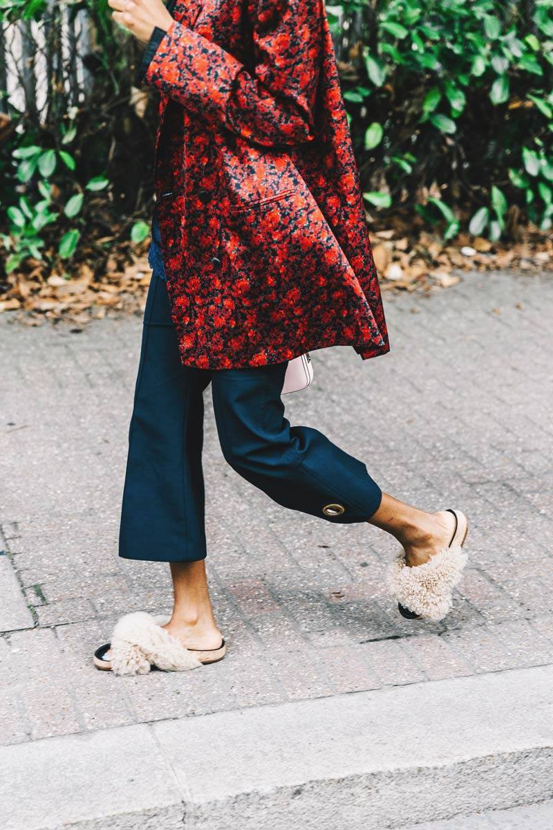 furry shoes, trends, styling