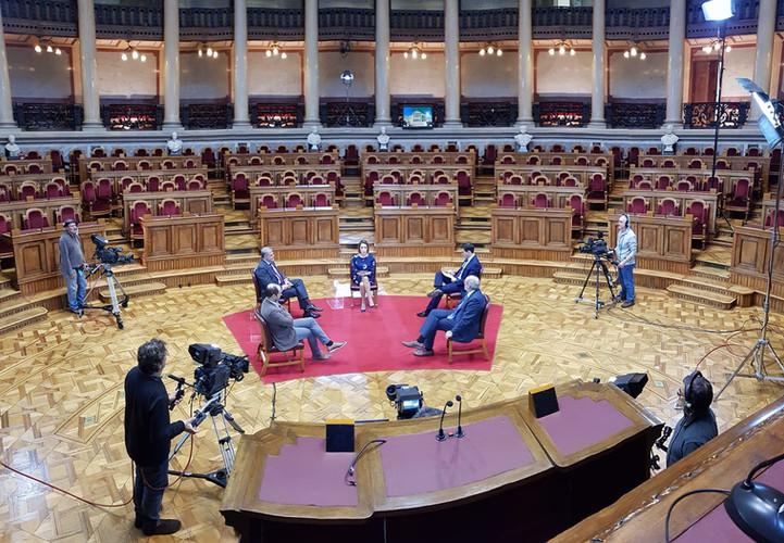 Parlamento gravação RTP