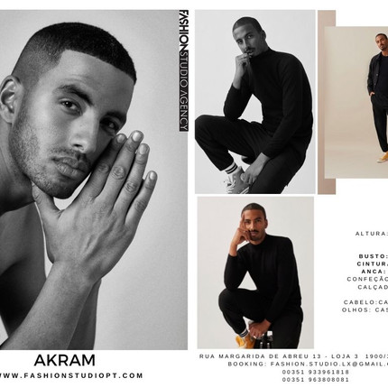 Modelos novos na Fashion Studio