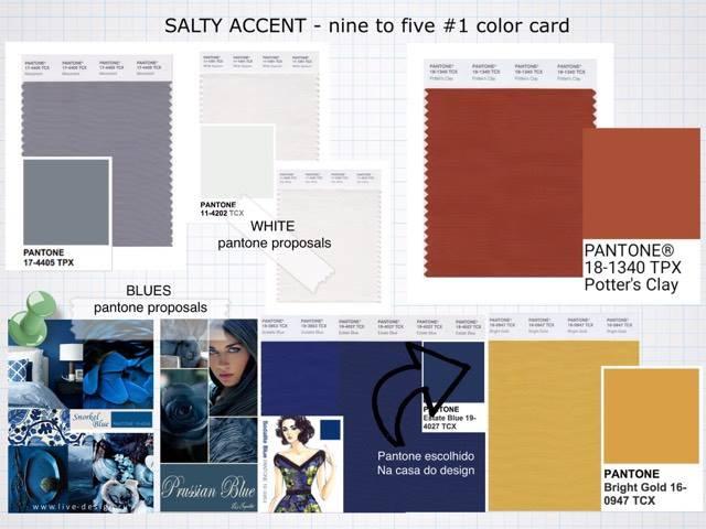 tecidos e cores