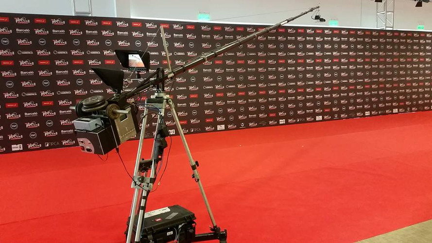 Perchcam Red carpet Prémios Cinema Ibero- Americanos (Uruguay)