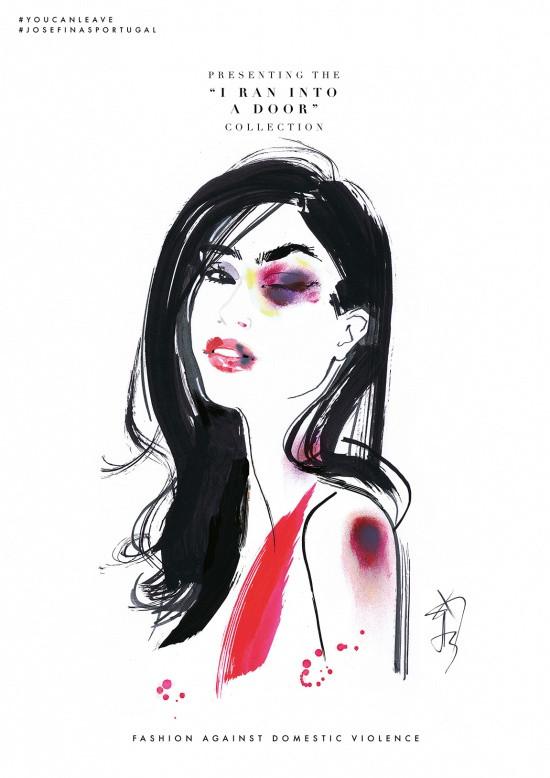 ilustração, moda