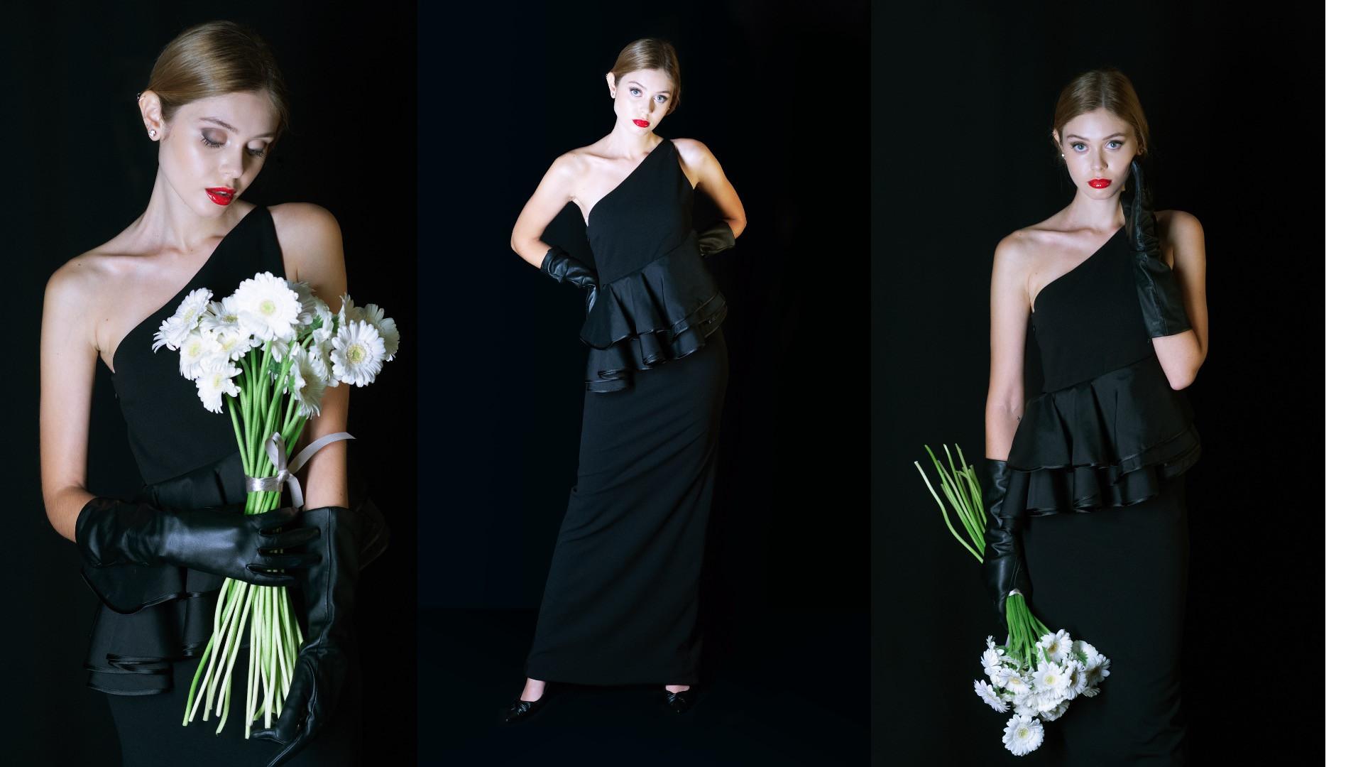 Modelo, styling, fotografia e makeup