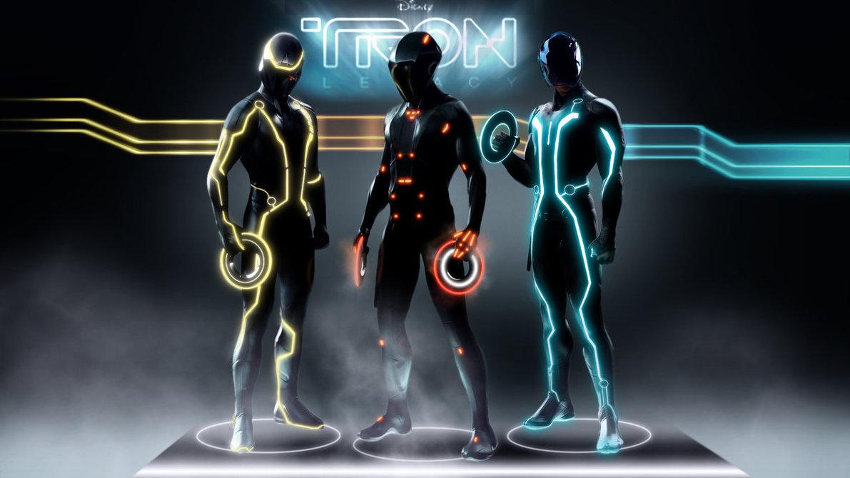 Figurinos do filme Tron - Legacy