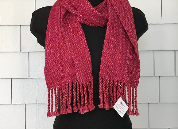 Red Pink Scarf