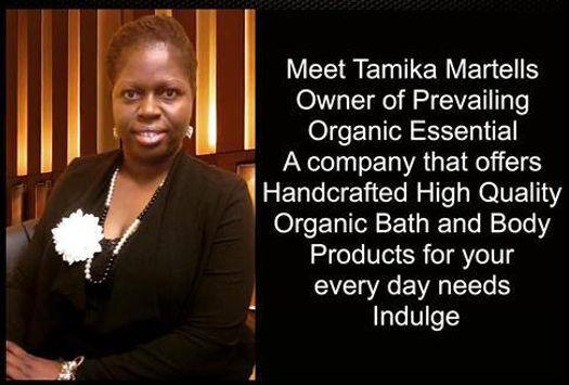 Tamika Martells - Ownr of Prevailing Organic Essentials