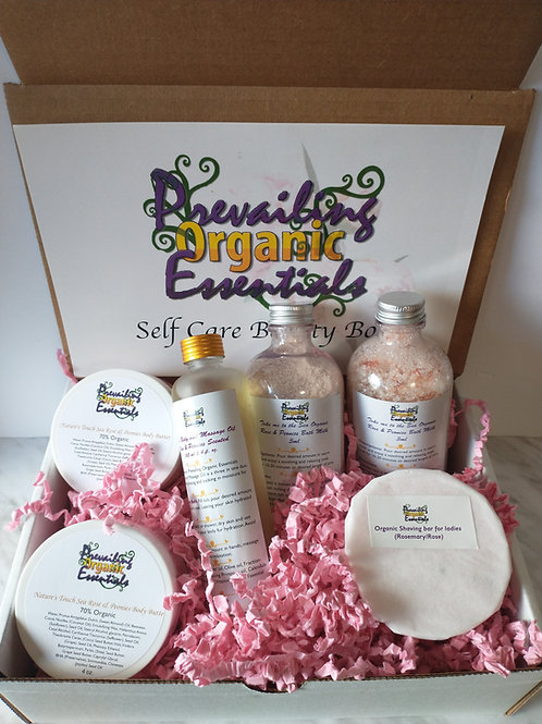 Rose and Peonies Beauty Box