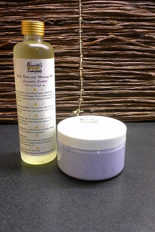 Bath Oil and Body Butter Set
