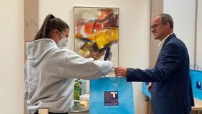 HAK 4B erkundet die Hypobank in Lienz