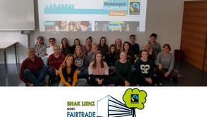 Kick-off-Treffen des Fairtrade-Schulteams der BHAK Lienz