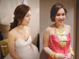 新娘造型:不能不試的留陰髮型