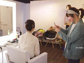 時尚新娘髮型班:真人練習指導課