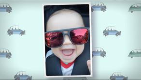 ¿Cómo preparar fotos para un video del primer añito de tu bebé?