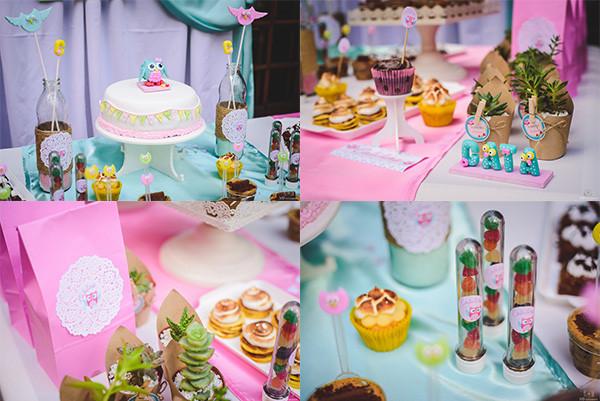 Candy Bar para primer añito Dulce angel tortas y mesas dulces - Eventos infantiles - ND Fotografia