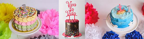 Tortas para primer añito Chica Pastel by Chechu Barco - Eventos infantiles - ND Fotografia