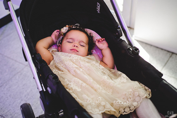 Beba dormida en cochecito - Eventos infantiles - ND Fotografia