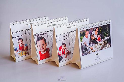 Calendarios de escritorio - ND Fotografi