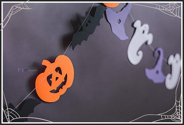 Guirnaldas de papel de halloween - Eventos infantiles - ND Fotografia