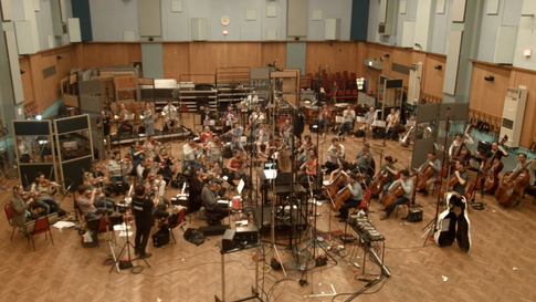 Abbey Road Studios Recording Session