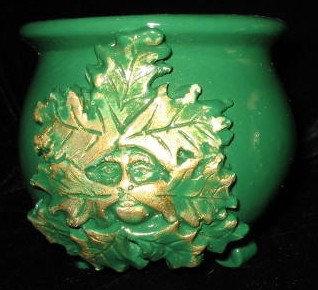 Oak Man Altar Cauldron