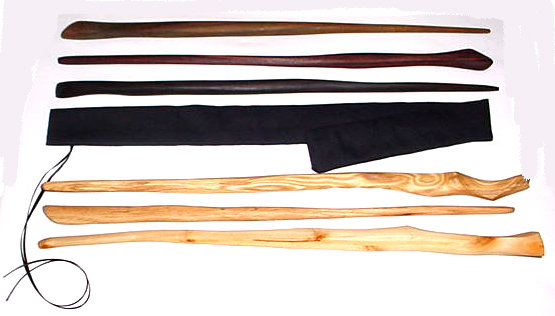 Wildcrafted Wood Wands Approximately 22""