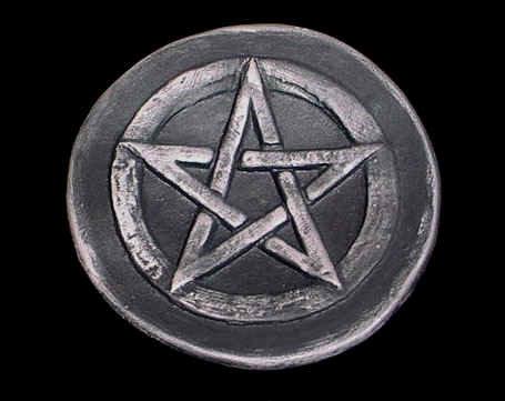 Large Pentacle Altar Disk