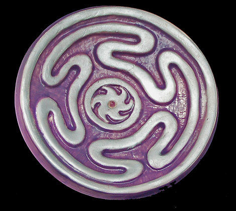 Hekate Footed Altar Disc