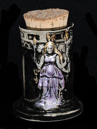 Hecate Triformis Corked Vessel
