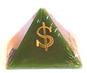 Money Draw Pyramid Talisman Lights™ Candle