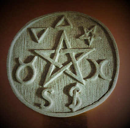 Symbolized Altar Pentacle