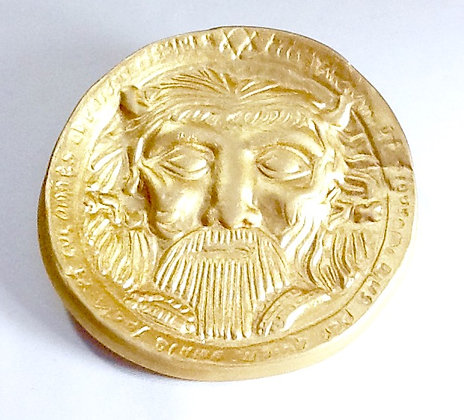 1st Seal of the Sun Solomonic Altar Disk set