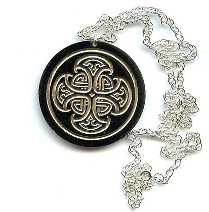 Celtic Cross Talisman Pendant
