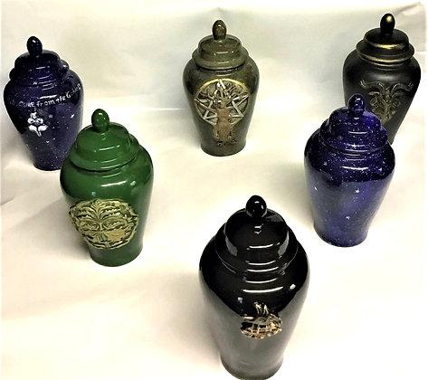 Lidded Urns/Lg. Vases