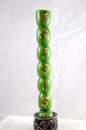 7 Knob Money Magick Talisman Lights™ Candle