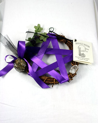 Harvest Moon Pentacle Sm. Wreath:Psychic Power