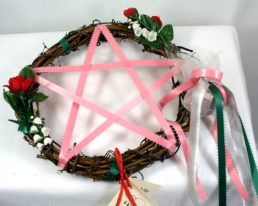 Harvest Moon Pentacle Wreath: Love - Friendship