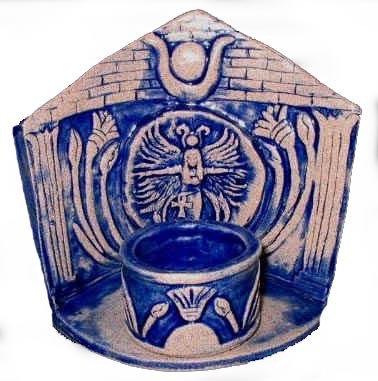 Isis Altar Shrine with Tea Light Votive