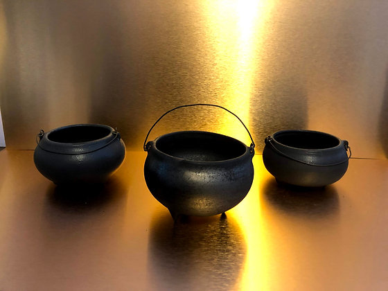 Stoneware Altar Cauldron