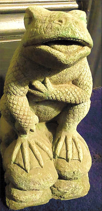 """Gothic Traditions """"Amorous Toad"""" - Green Finish"""