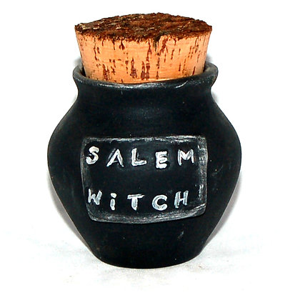 Salem Witch Corked Jar & more