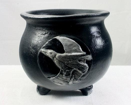 Raven Moon Altar Cauldron