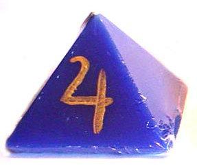 Jupiter Wealth Drawing Talisman Lights™ Pyramid