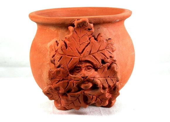 Terra Cotta Altar Cauldron