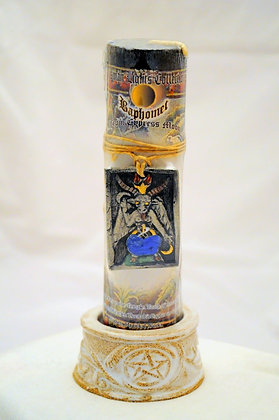Baphomet Talisman Lights™ Amulet Pillar Candle