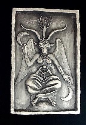 Baphomet Plaque