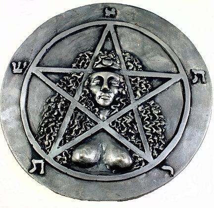 Goddess Astarte Pentacle Plaque